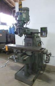 Sharp Vertical Milling Machine Hmv dvs 10 X 50 Tbl 3 Hp V speed 29150