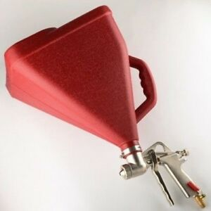Air Power Drywall Texture Sprayer Hopper Gun Spraying Spray Texturing Finish