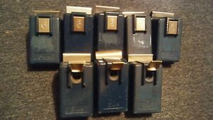 Supra Indigo Key Boxes Side Window Mount Sets Of 12 Used Working Condition
