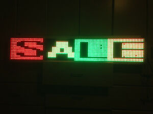 Led Signs 50 X 10 Tri color Bright Digital Programmable Scrolling Message Disp