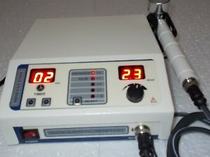 1 Mhz Ultrasound Therapy Machine Portable Chiropractic Deep Heat Tissue Ma