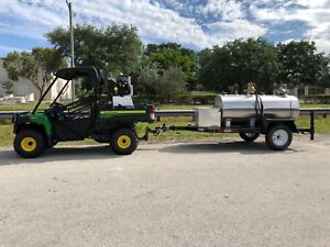 Fuel Trailer Diesel Utv All Terrain Service Vehicle