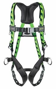 Miller By Honeywell Aca qc s mgn Full Body Harness s m 400 Lb green