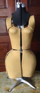 Vintage Dressmakers Dress Form Adjustable Mannequin