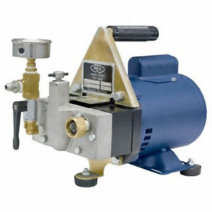 Wheeler rex 39300 Electric Powered Hydrostatic Test Pump 300psi