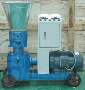 Combo Pellet Mill 7 5kw 10hp Hammer Mill 4kw Electric Engine Free Shipping