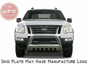 Apu 2006 2010 Ford Explorer Stainless Led Bull Bar Bumper Brush Guard Protector