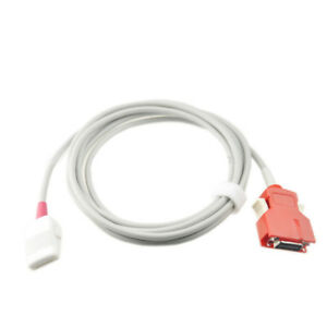 Masimo Lnop 2060 pc 12 Red 20pin Spo2 Extension Cable Probe Adapter 2 2m