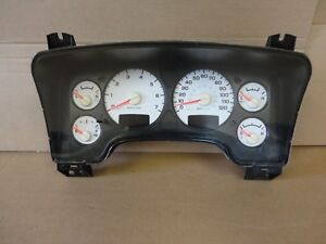 02 03 08 09 Dodge Ram Truck 4 7 Mt Speedometer Gauge Dash Instrument Cluster
