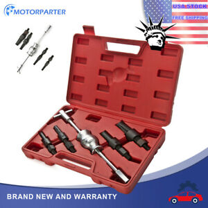 Set Blind Hole Slide Hammer Pilot Bearing Internal Extractor Removal Tooling Kit