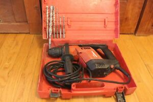 Hilti Te 5 Rotary Hammer Drill With Case