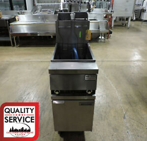 Anets Goldenfry Mx14 aa Commercial Gas Fryer