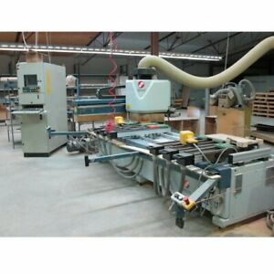 Masterwood Project 317 Heavy Duty Cnc Pt To Pt Machining Center