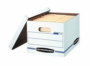 Bankers Box Stor file Storage With Lift off Lid Letter legal 12 X 10 15 Inches