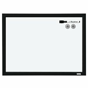 Quartet Dry Erase Board Whiteboard White Magnetic 17 X 23 Black Frame Boards
