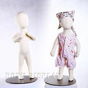 3 Month Old Baby Flexible Body Form Removable Head With Flat Metal Top