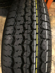 6 New St205 75r15 Mirage Radial Trailer Tires 8 Ply 205 75 15 St 2057515 R15 St