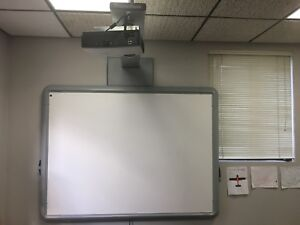 Promethean Activboard Abv378pro Projector Prm 35 And Mounting