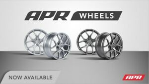 Apr 19x8 5 Flow Formed Wheel Set Silver Audi B7 B8 B9 S4 Vw Mk7 Golf R Gti 5x112