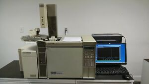 Hp 5890 5972 Gc ms With Autosampler Computer software Tested Working