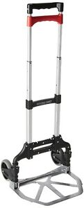Hand Truck Cart Dolly 150 Lb Capacity Aluminum Folding Hand Truck Office Home
