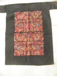 Chinese Miao People S Old Hand Embroidery Apron