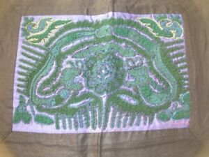Chinese Miao People S Old Hand Embroidery