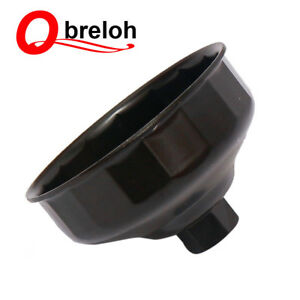 Qbreloh 86mm Oil Filter Wrench For Volvo And Bmw 3 8 Square Drive 16 Flutes Us