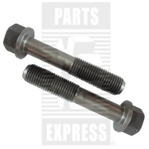 John Deere Connecting Rod Cap Screw 2 pack Part Wn r80033 For Tractor 1020 1030