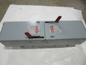 Ge Ads36060hd Fusible Switch Unit 3p 60a 600v New With Free Shipping