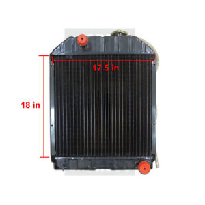 Ford New Holland Radiator Part Wn c7nn8005e For Tractor 4100 5000 5100 5600 6600