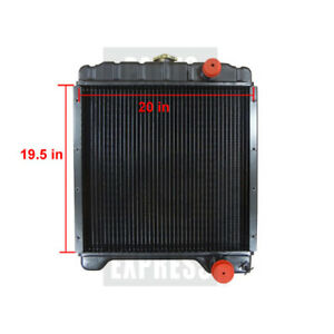 Case Radiator Part Wn a172038 Fits 580 580k 580k i 580k iii 580sk