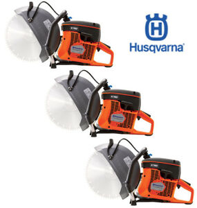 Three New Husqvarna K760 14 Concrete Cutoff Saws