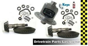 Chrysler 9 25 Dana 44 Posi Package Gear Set Master Kit Duralock 4 10 Ratio F R