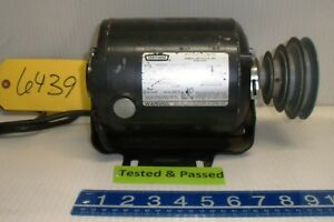 Craftsman Ac Split Phase Electric Motor 115 Volt 1 Ph A56z Fr 1725 Rpm Free Ship
