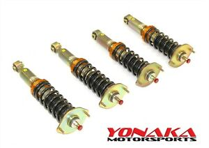 Yonaka Mazda Miata Na Coilovers 89 98 Adjustable Lowering 89 90 91 92 93 94 95