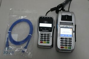 First Data Fd130 Credit Card Terminal And Fd 35 Emv Pin Pad Pos Point Of Sale