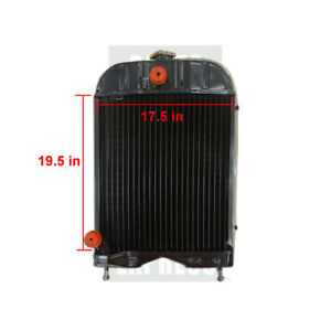 Massey Ferguson Radiator Part Wn 894319m92 17 75 H X 15 W For Tractor 35