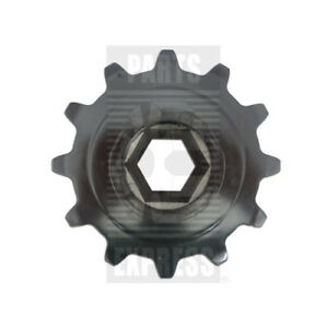 New Holland Chain Sprocket Part Wn 766380 12 tooth 1 75 Hex Bore For Combine