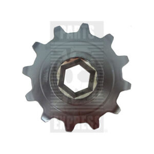 New Holland Combine Feeder Chain Sprocket Part Wn 766379 12 tooth 1 75 Hex Bore