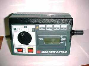 Avo Megger Det3 2 Hand crank Ground earth Resistance Tester Case
