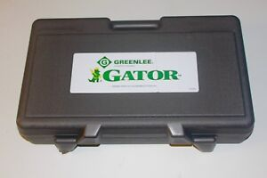 Greenlee Es750 Battery powered Cable Cutter 120 Volt Charger