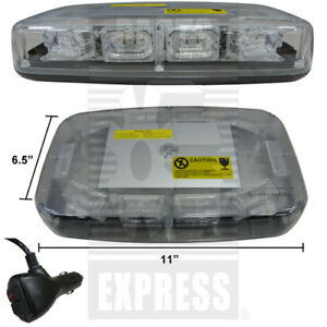 Warning Beacon Light Part Wn led884 Magnetic Roof Mount For Tractors