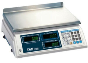 Cas S2000 Price Computing Scale 60 Lb X 0 02 Lb Ntep Legal For Trade