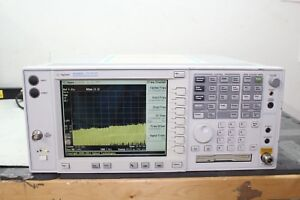 Agilent Hp Keysight E4440a Spectrum Analyzer 3 Hz 26 5 ghz Calibrated W