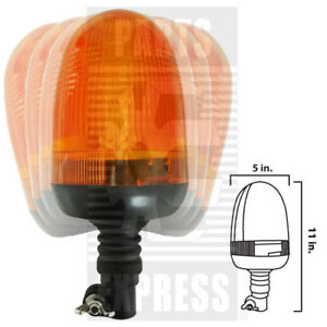 Led Light Warning Beacon Part Wn bled173 Flexible Mount For Tractor Cabs