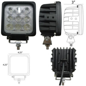 Square Led Flood Light Part Wn led730f 9v 32v 1730 Lumens 4 25 X 4 25