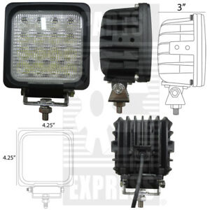 Square Led Flood Light Part Wn led740f 9v 32v 3280 Lumens 4 25 X 4 25