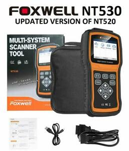 Diagnostic Scanner Foxwell Nt520 Pro For Fiat Sedici Obd Code Reader Abs Srs