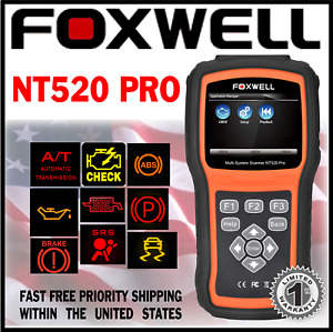 Diagnostic Scanner Foxwell Nt520 Pro For Opel Astra Obd Code Reader Abs Srs Dpf